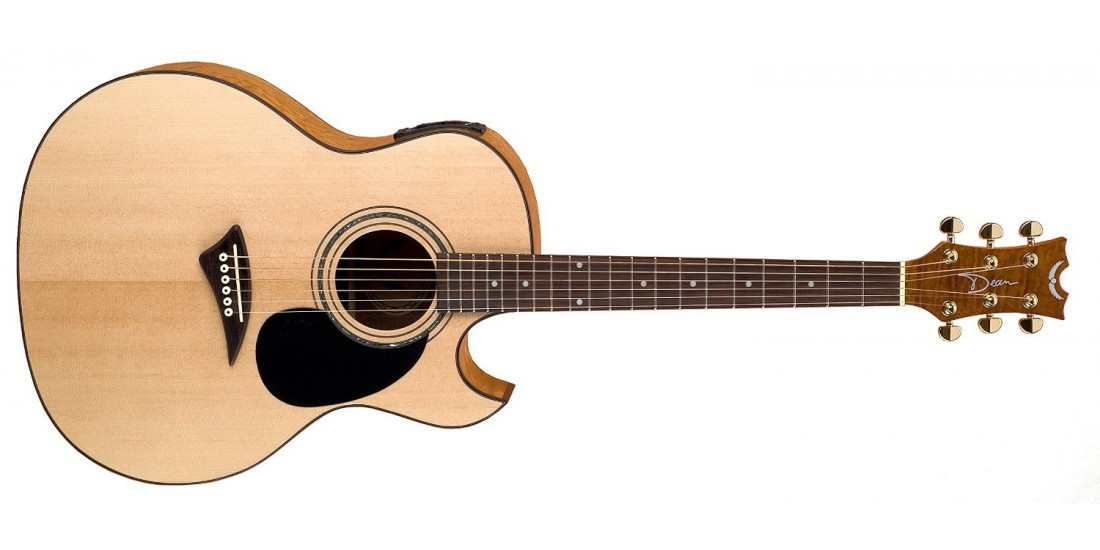 Dean AK48-GN Cutaway Spruce Top Acoustic Electric Guitar B-Stock