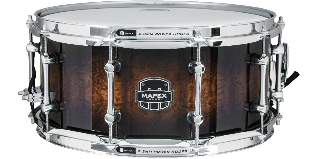 Mapex  ARBW4650RCTK  Armory  Series  Exterminator  Snare  Drum  6.85mm  Maple  -  14x6.5