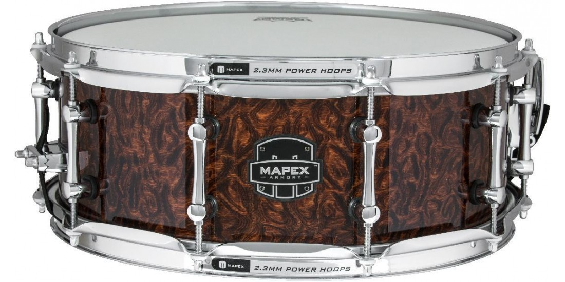 Mapex ARML4550KCWT Armory Series Dillinger Snare Drum 6.85mm Maple - 14x5.5