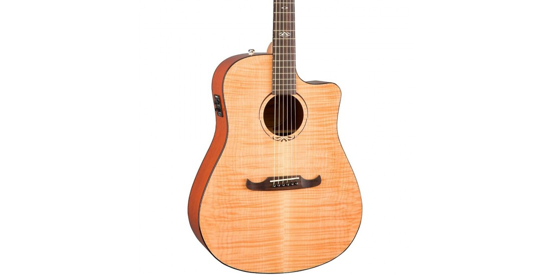 Fender T-Bucket 400CE Flamed Maple  Acoustic Electric Guitar Natural