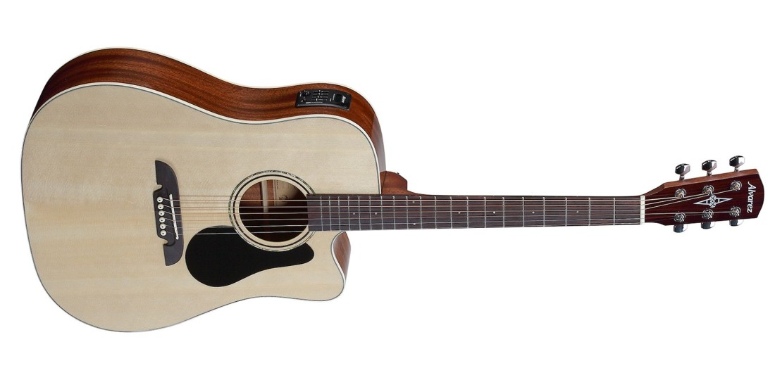 Alvarez RD26CE Acoustic Electric Guitar Natural Finish with Deluxe Gigbag