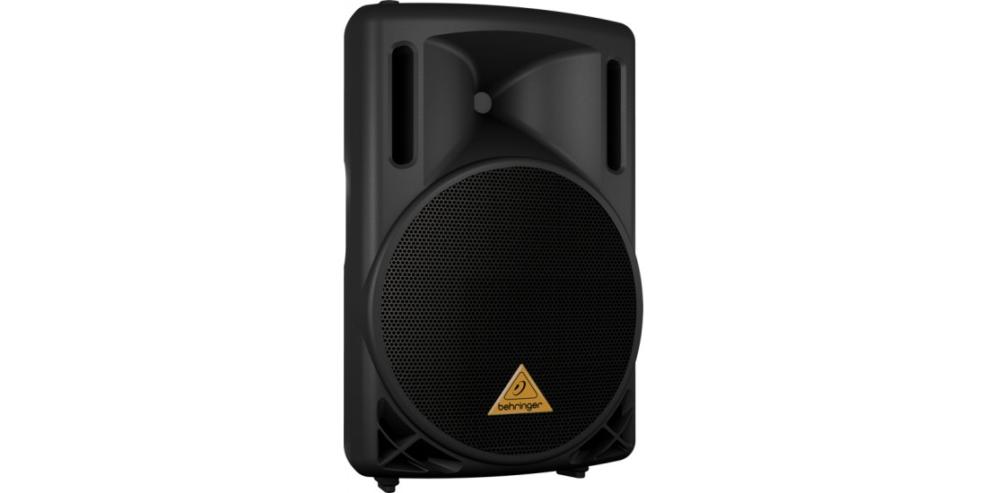 Behringer B212D Eurolive 550-Watt Active Powered 12 Inch 2-Way PA Speaker Black