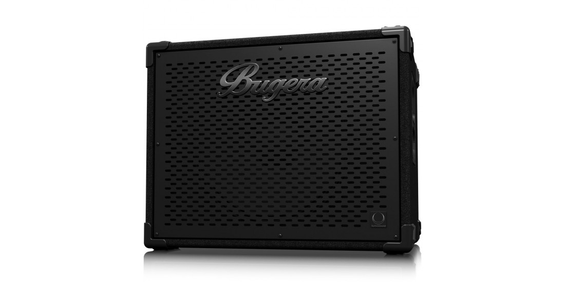 Bugera BT115TS Ultra Compact and Lightweight 1600 Watt Bass Cabinet with 1x15 inch Turbosound Speakers and 1 inch Horn Driver