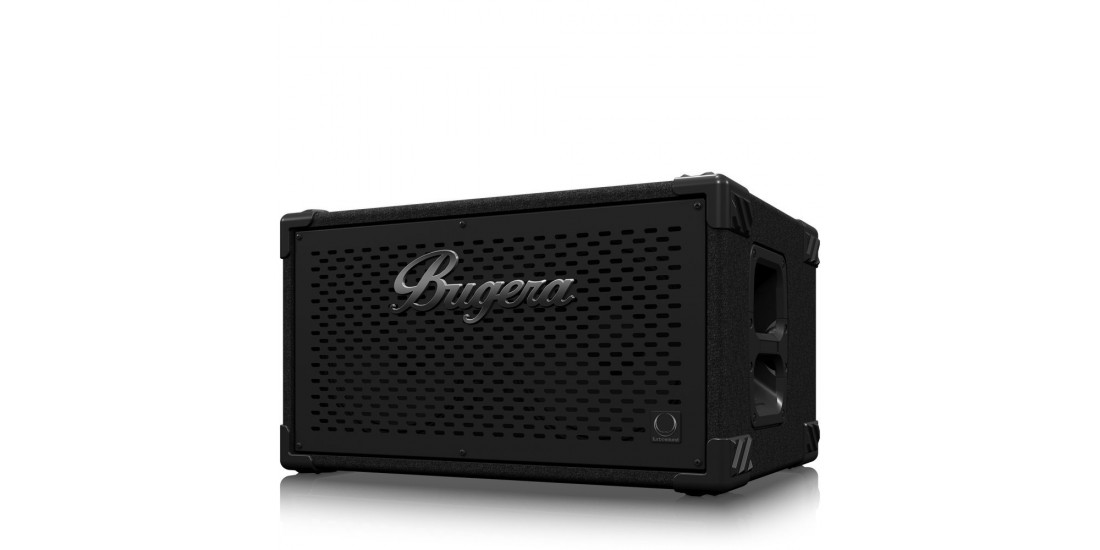 Bugera BT210TS Ultra Compact and Lightweight 1600 Watt Bass Cabinet with 2 x 10 inch Turbosound Speakers and 1 inch Horn Driver