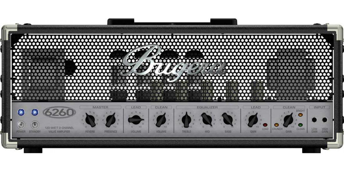 Bugera 6260 120 Watt 2 Chan All Tube Guitar Amplifier Head