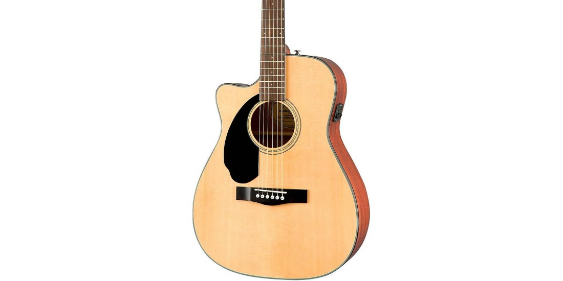 Fender  CC60-SCELH  Acoustic  Electric  Guitar  Natural  Finish
