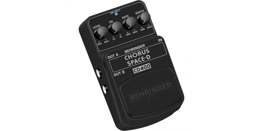 Behringer Chorus Space CD400 Digital 3 Dimensional Sound Effects Pedal