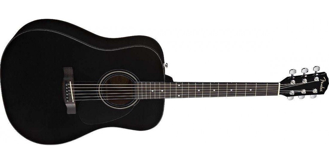 Fender  CD60S  6  String  Acoustic  Black