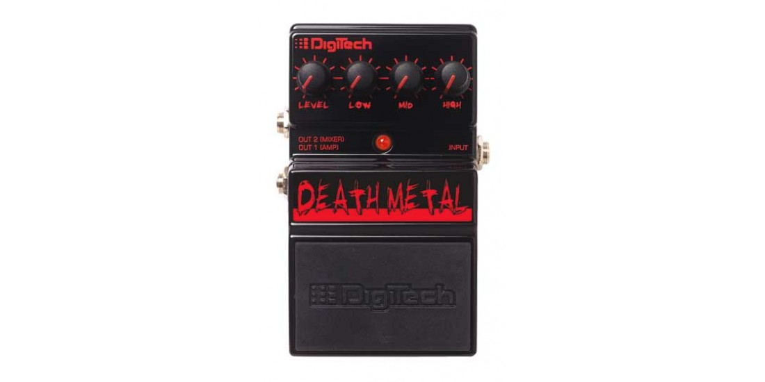 Digitech DDM Death Metal Guitar Distortion Pedal