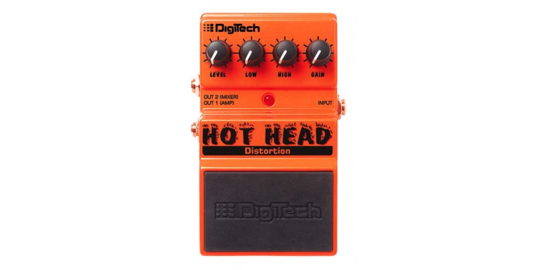 Digitech DHH Hot Head Distortion Pedal
