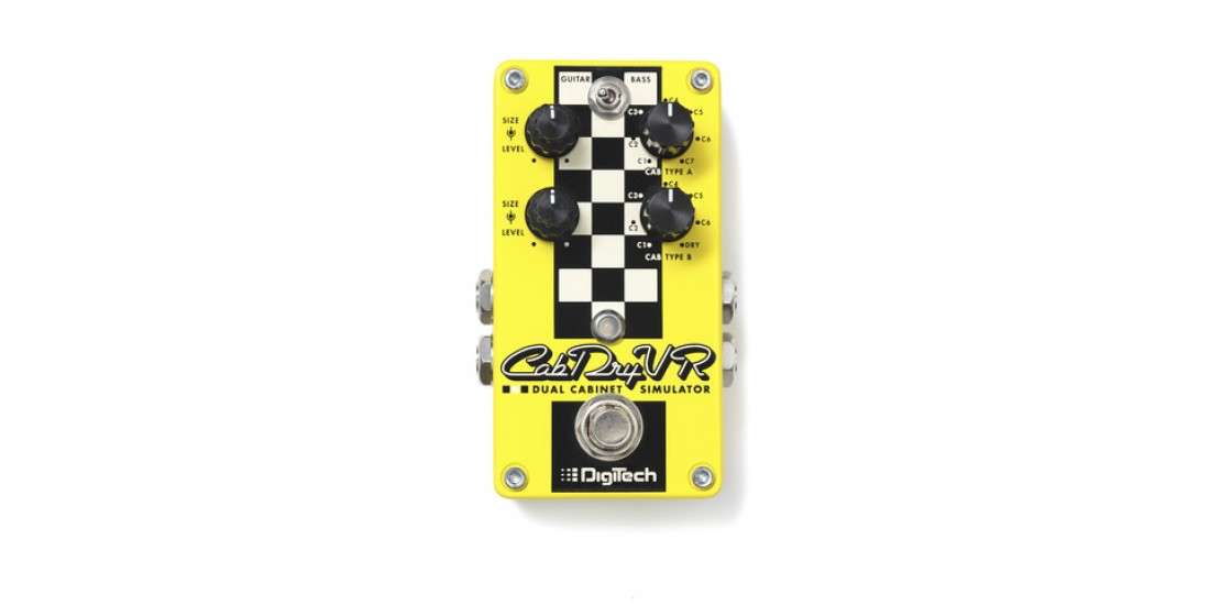 Digitech CabDryVR Dual Cabinet Emulator for Electric and Bass guitar
