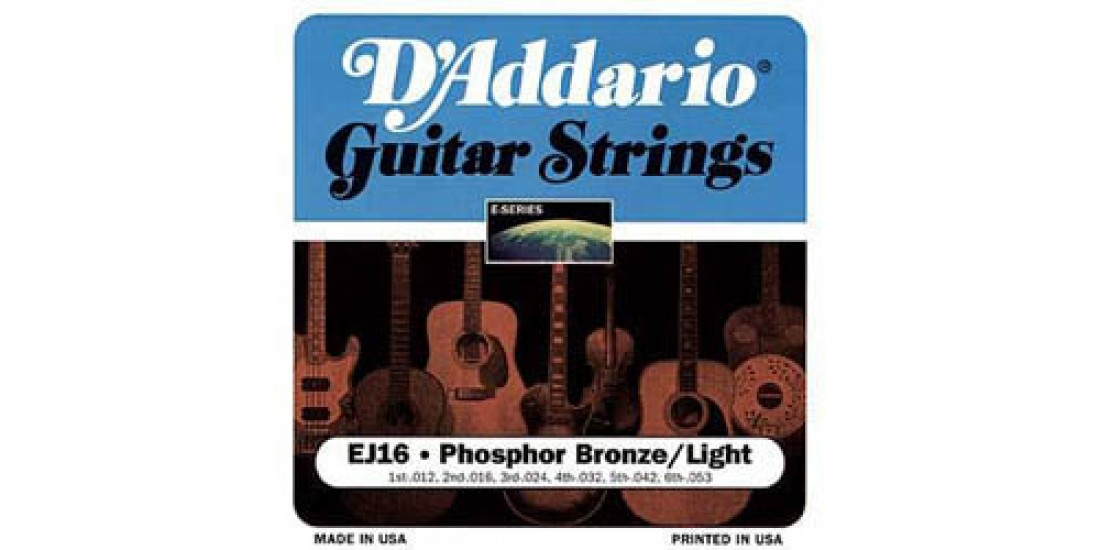 D Addario EJ16 Acoustic Guitar Strings