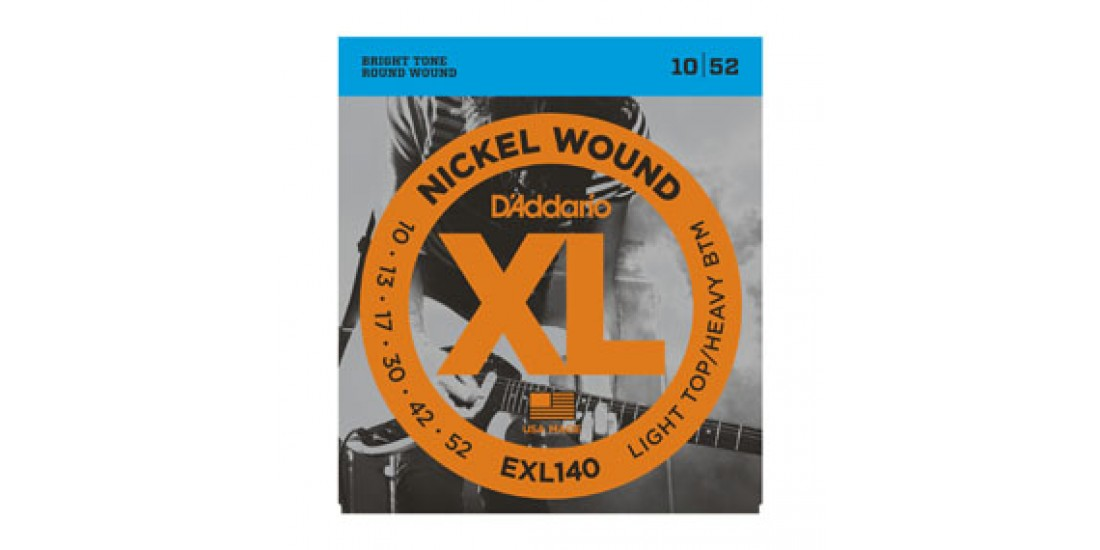 D Addario Electric Guitar Strings Xl Series (.010-.052)