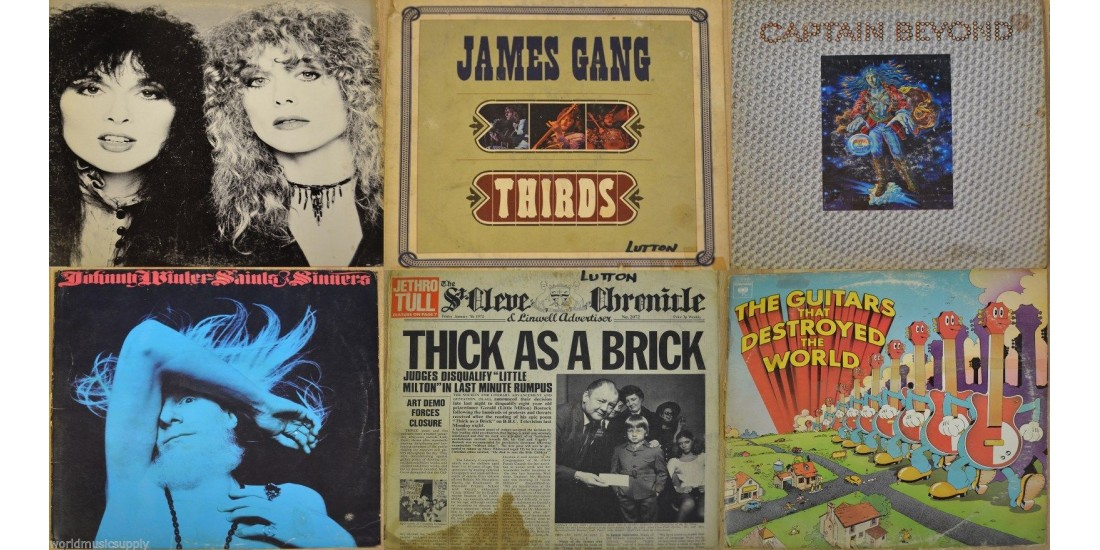 Collection of 27 Vintage Record Jackets