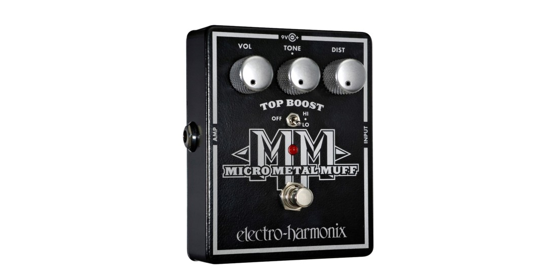 Electro Harmonix Micro Metal Muff Distortion Pedal