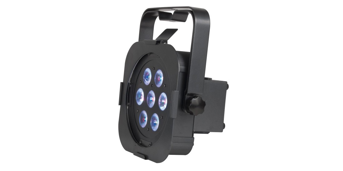 American DJ Flat Par Tri 7X LED DMX Ultra Bright LED Panel 7x 3 Watt 3 in one tri color RGB