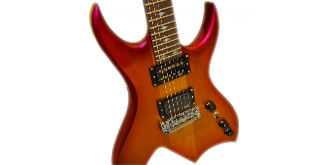 BC Rich NJRBGQCSBP NJ Retro Bich Cherry Sunburst Pearl
