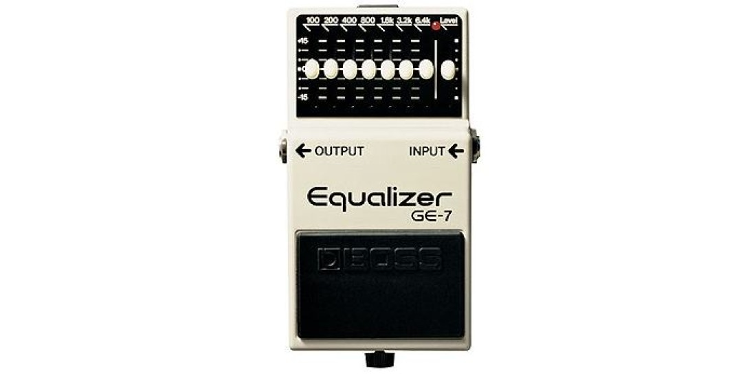 Boss  GE7  7  Band  Graphic  Equalizer  Guitar  Pedal