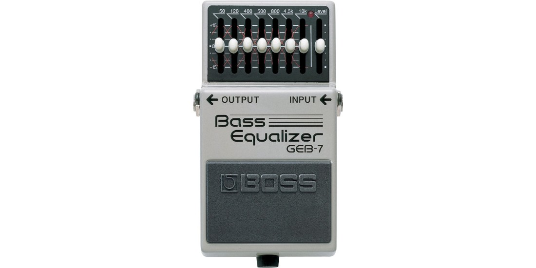 Boss GEB-7 EQ 7-Band Equalizer for Electric Bass