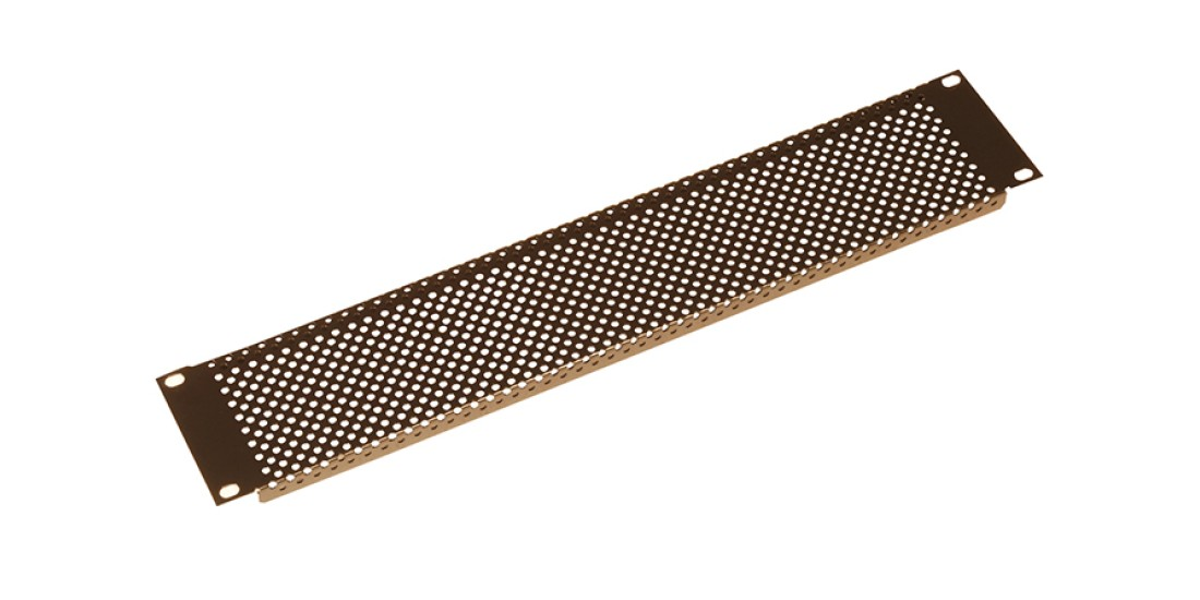 2U Perforated Flanged Panel