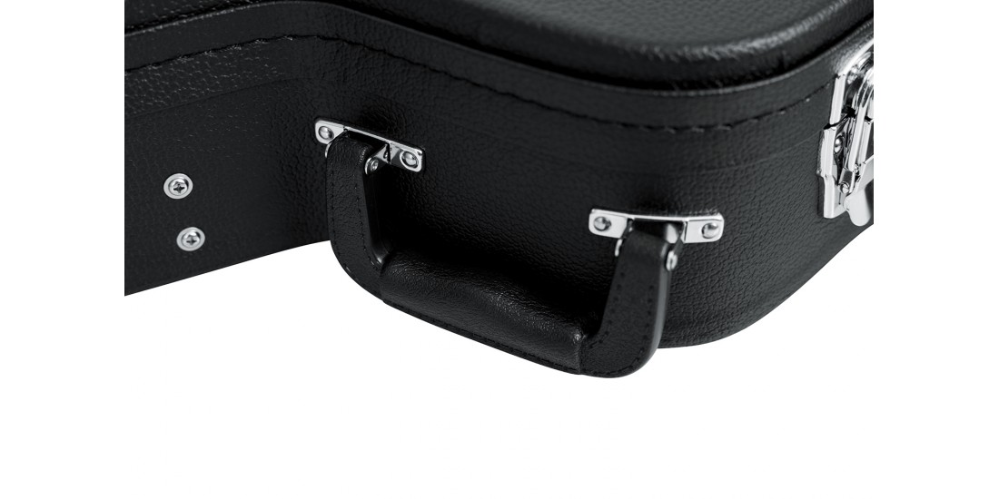 Gator GWE Series Arched Top Acoustic Hardshell Guitar Case for 6 or 12 string