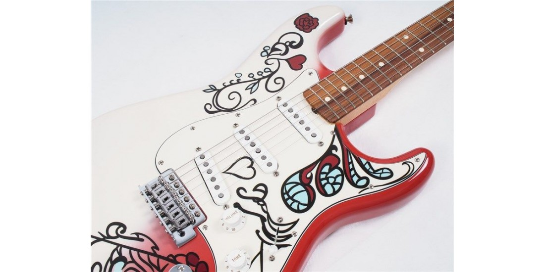 Fender Jimi Hendrix Limited Edition Monterey Stratocaster with Artwork