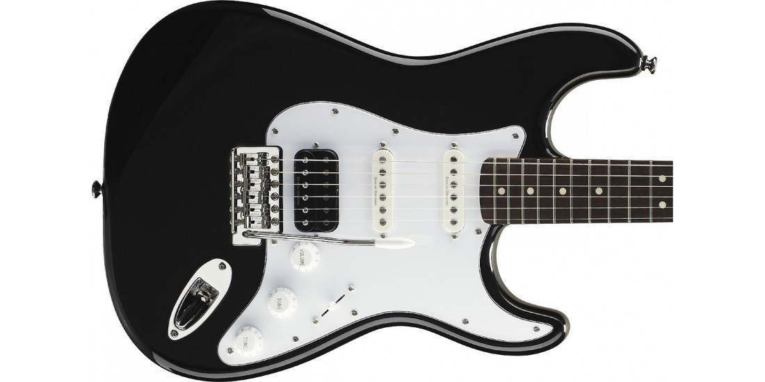 Fender Squier Vintage Modified Stratocaster Black with Duncan Pick-Ups