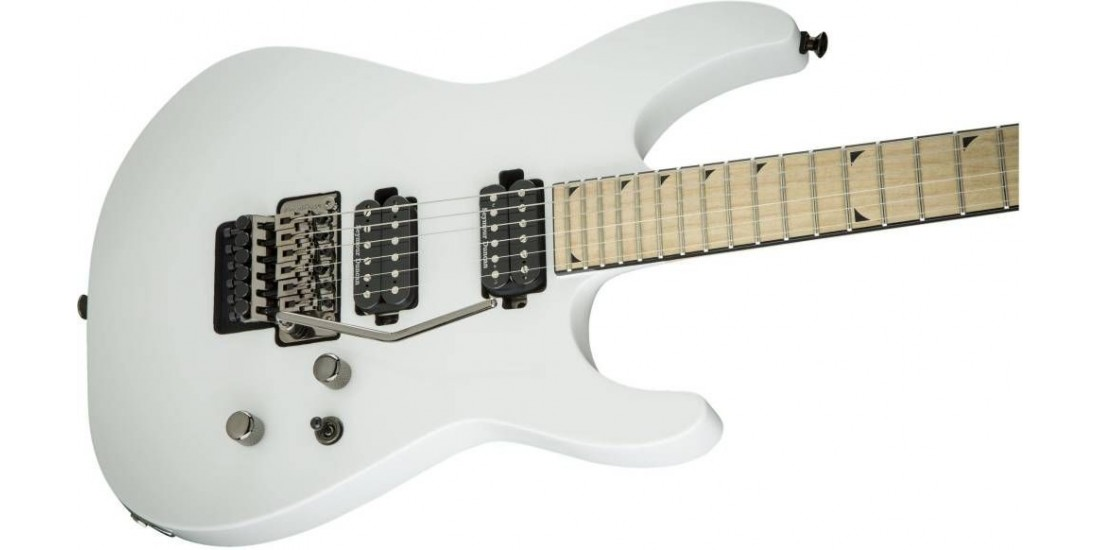 Open Box - Jackson Pro Soloist- SL2M Electric Guitar in Snow White