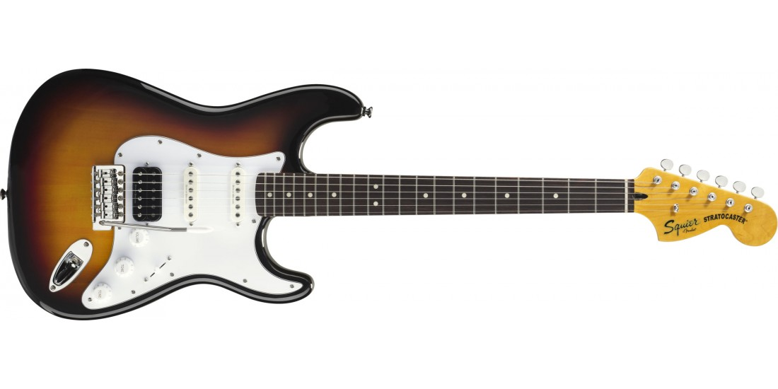 Fender Squier Vintage Modified Stratocaster with Duncan Pick-Ups in Sunburst