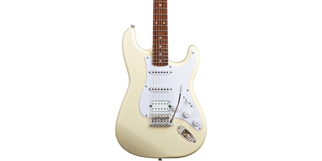 Fender Squier Bullet Strat HSS Electric Guitar Arctic White
