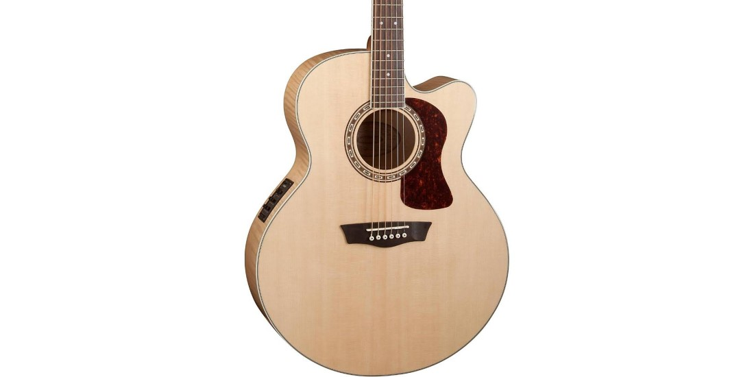 Washburn HJ40SCE Heritage Jumbo Acoustic Electric Solid Spruce Top