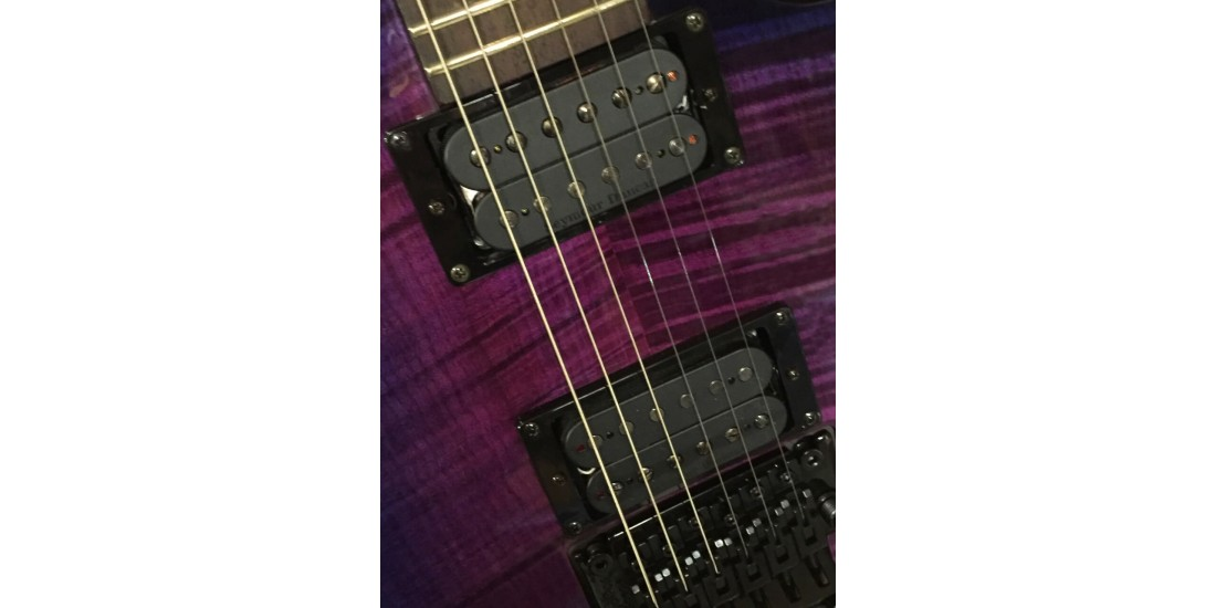 Diamond HLCFM-FR-UV Halcyon Electric Guitar Ultra Violet