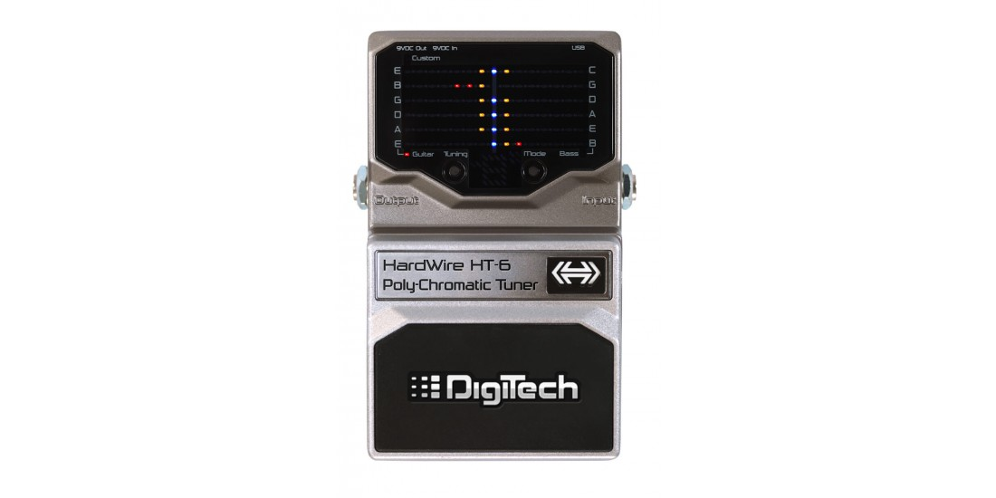 Digitech Hardwire HT-6 PolyChromatic Pedal Tuner