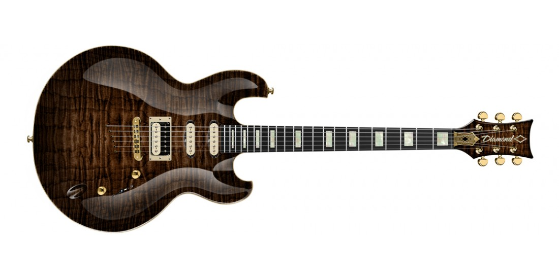 DBZ Diamond IMFM3-KB Imperial Electric Guitar Kona Brown