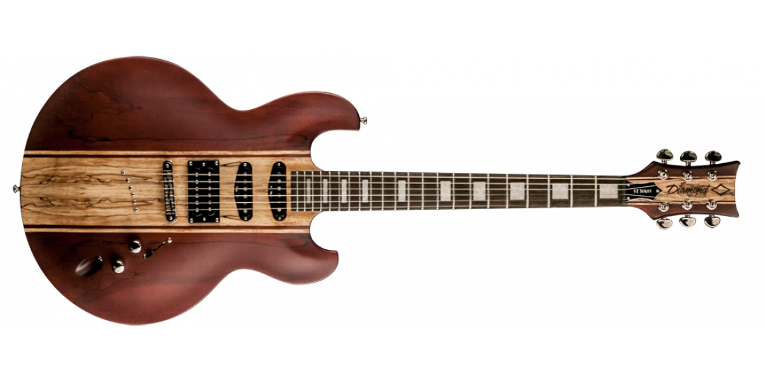 DBZ Diamond IMST14-SWA Imperial Satin Walnut  Electric Guitar