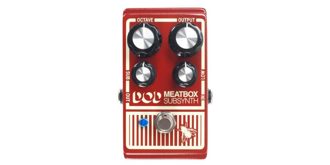 Dod Meatbox Octave Sub Synth Classic Reissue Pedal