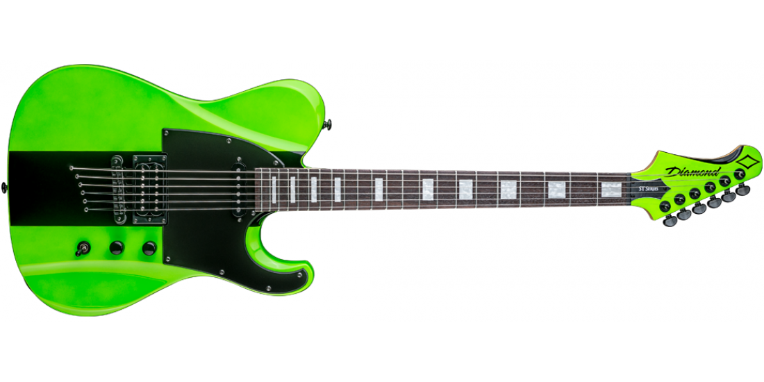 DBZ by Diamond MAVST14-HG Maverick Electric Guitar Hemi-Green