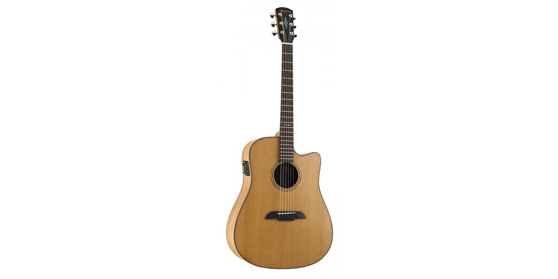 Alvarez MD65CE Acoustic Electric Guitar Natural Finish with Case