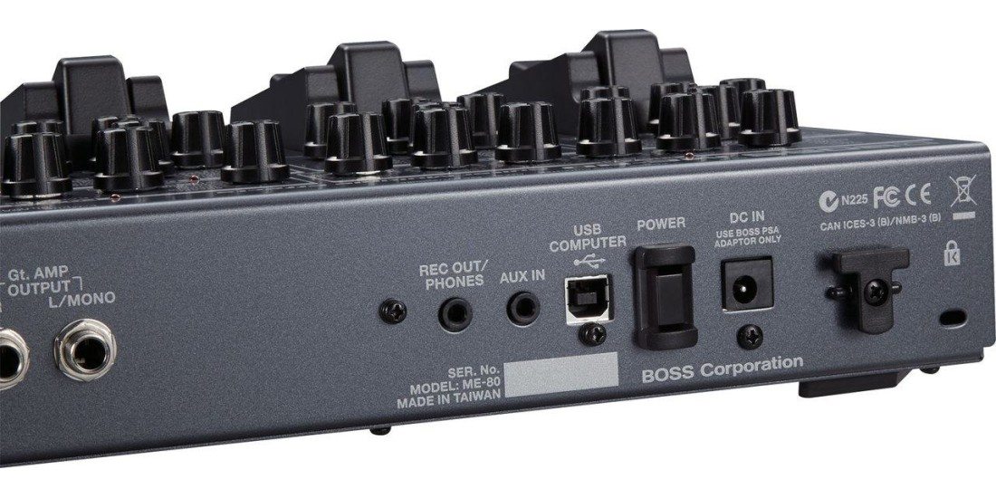 Boss ME-80 Compact Floor Guitar Multi-Effects Pedal