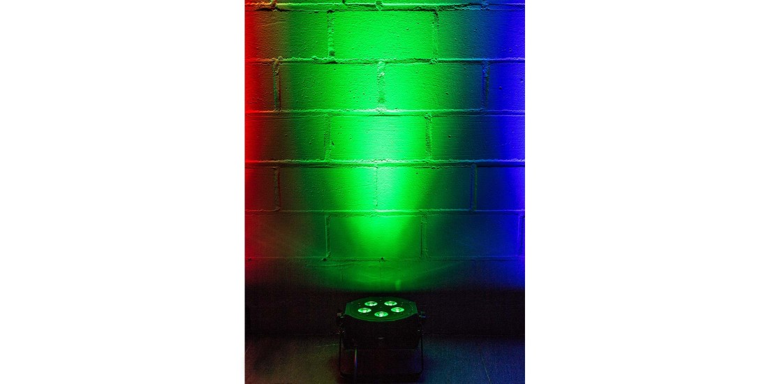 American DJ Mega Tripar Profile ultra bright RGB plus UV LED (QUAD Led) for UV effect & vibirant color mixing