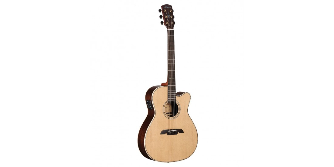 Alvarez MFA70CE Acoustic Electric Guitar Natural Finish with Case