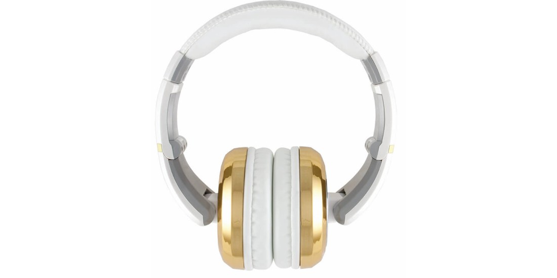 CAD Audio MH510GD Closed-back Studio Headphones - Gold/White - Two Cables Two Sets Earpads