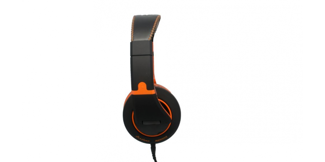 CAD Audio MH510OR Closed-back Studio Headphones - Black/Orange - Two Cables Two Sets Earpads