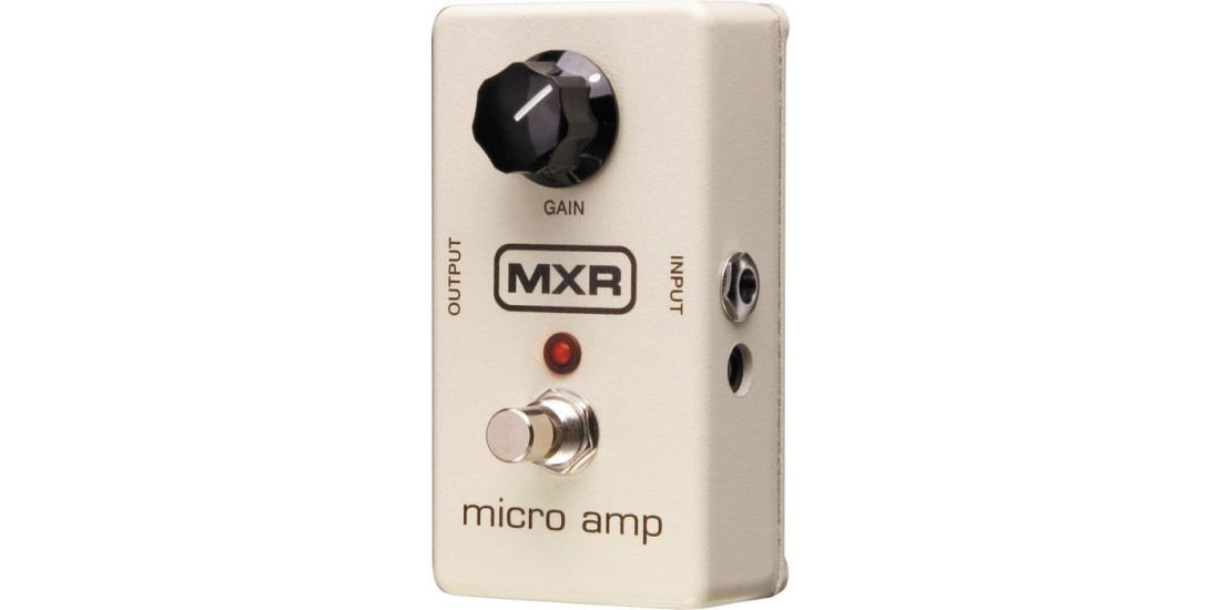 MXR M-133 Micro Amp Electric Guitar Effects Pedal