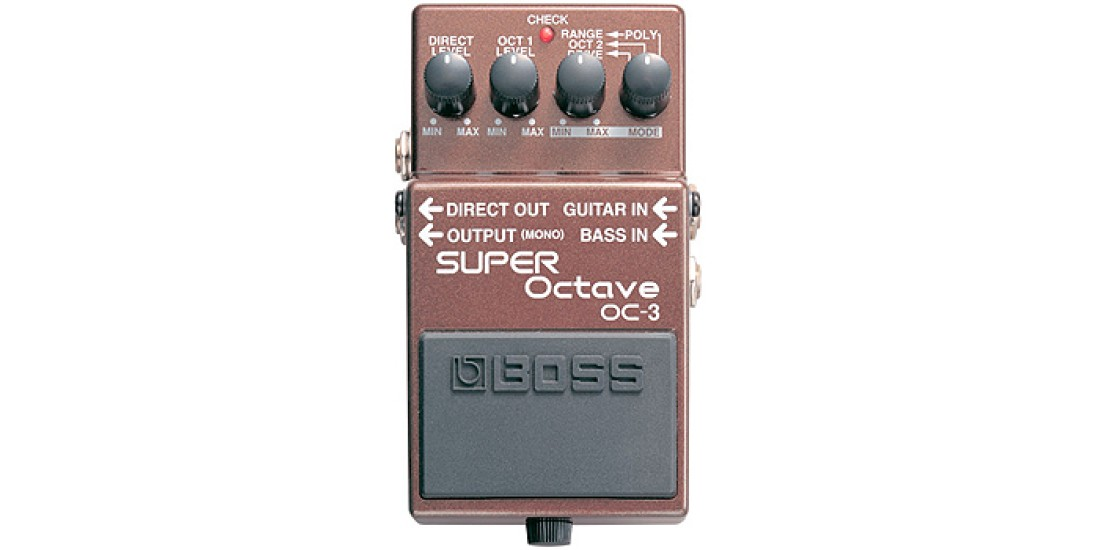 Boss OC3 Super Octave Guitar Pedal