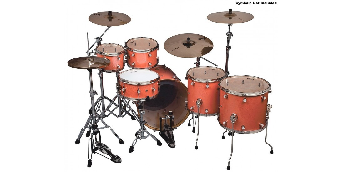 DDrum PMU-622-VCS Paladin 622 6 piece Drum Set Vintage Coral Sparkle with Hardware