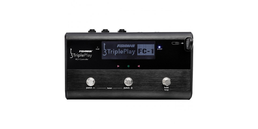 Fishman TriplePlay FC-1 USB Host and Foot Controller