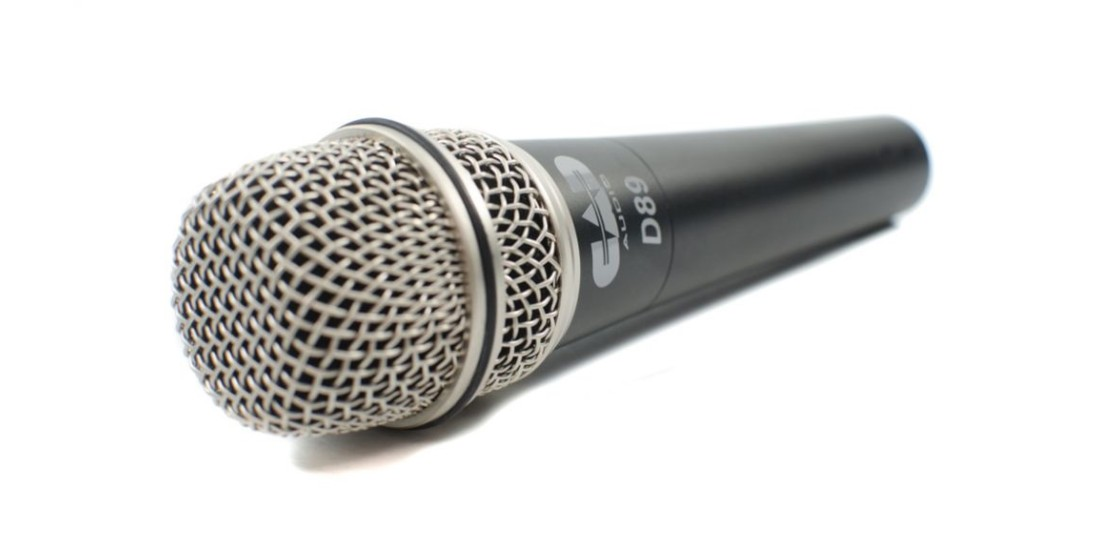 CAD  Audio  D89  Dynamic  Vocal  or  Instrument  Microphone
