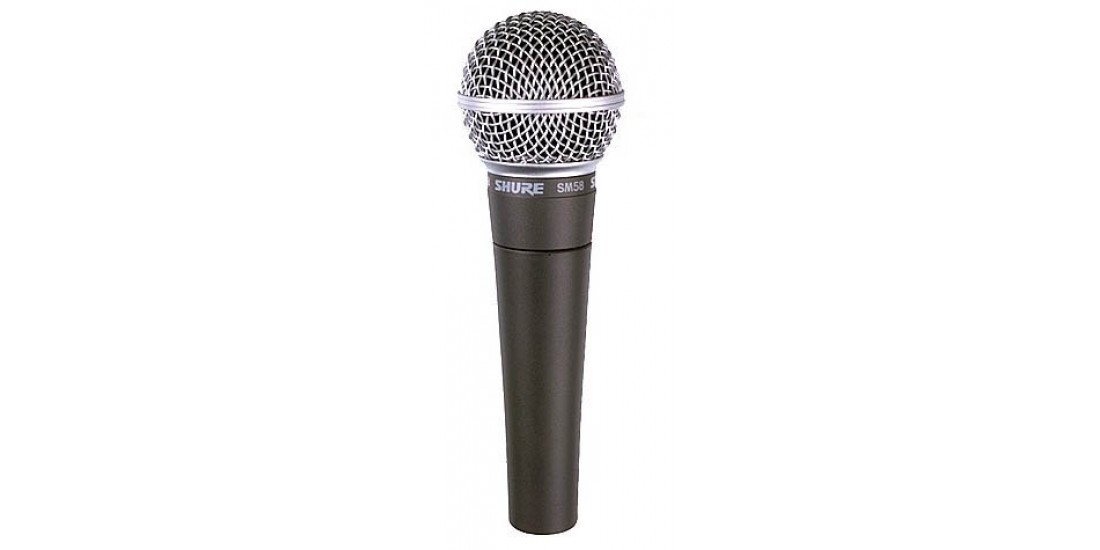 Shure SM58S-LC Microphone with Switch