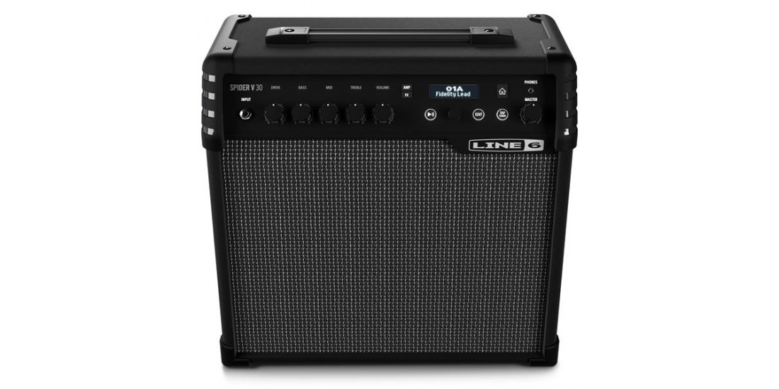 line 6 spider v 30 watt guitar amplifier. Black Bedroom Furniture Sets. Home Design Ideas